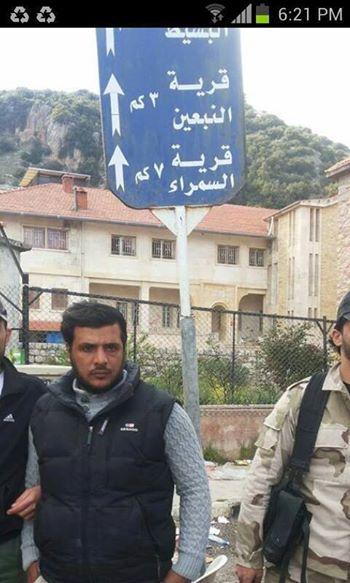 Der Kannibale von Homs welcher auch schon mehrfach in Mettelsiefens Propaganda-Filmen die Rolle des netten Aktivisten inne hatte
