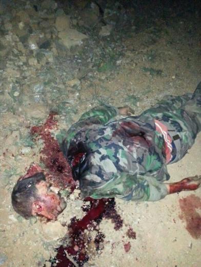 Soldat bei Kasab