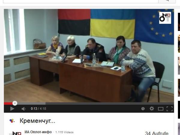 Eukrainische Faschisten Rechter Sektor Bandera