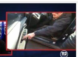 Politiker mit Mördergewehr