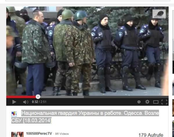 Polizei und Nazis Hand in Hand