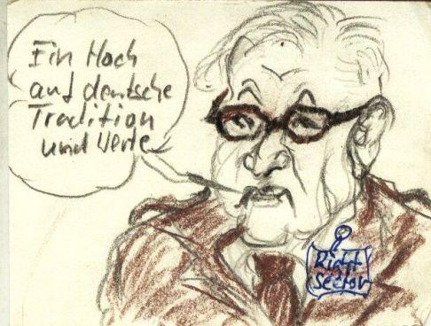Für Tratition und deutsche Werte, Steinmeier nun von mir zum Ehrenmitglied vom Rechten Sektor ernannt