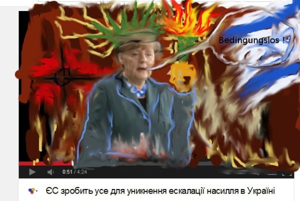 ukraine Merkel