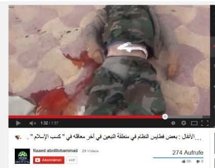 Verwundeter ermordet