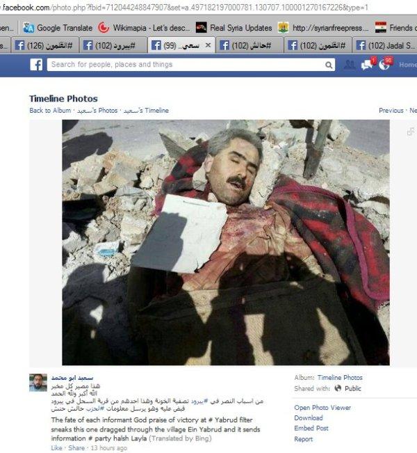 """Leichenschänder und Mörder, die gemäßigte """"Islam-Armee"""" von Spiegel-Rossloff"""