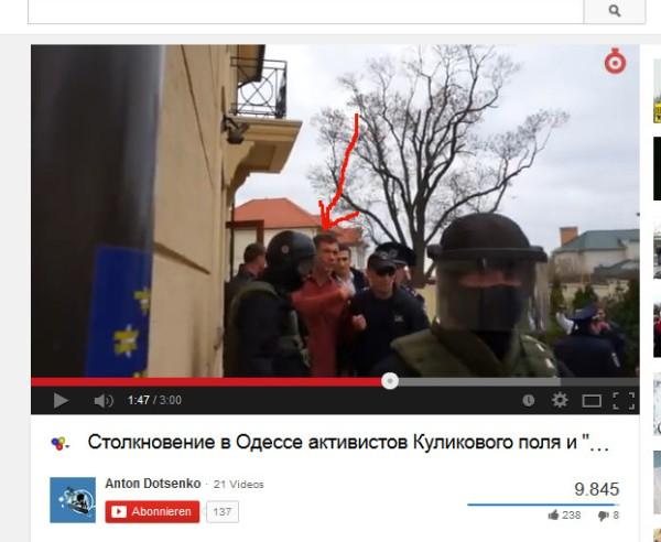 Oleg in der Hand der Junta