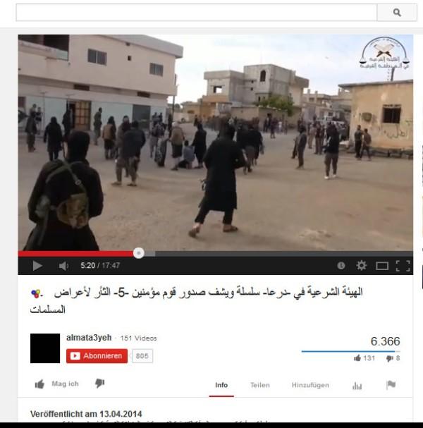 Daraa Todesschwadrone