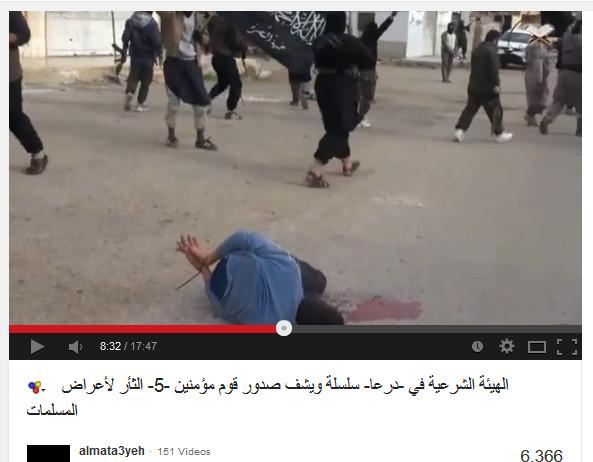 Die internationalen Söldner und Faschisten ermorden Menschen in Syrien