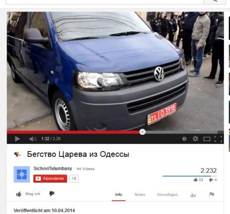 Fahrzeugkennzeichen OlegEntfuehrung