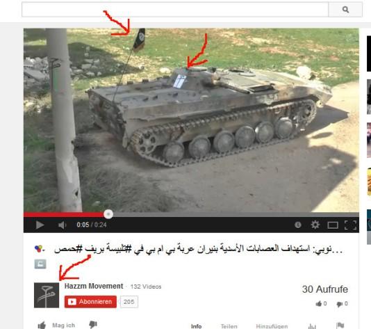 Obamas Terroristen bei Hama, wwelche auch mit man-pads ausgestattet wurden
