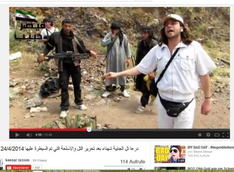 Westliche Werte ohne Moral, der UN-Aktivist mit seinen Kopfabschneiderfreunden