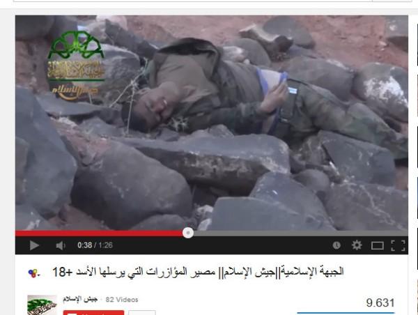 Zahran Allousch´s Islam Armee mordet mit Giftgas bei damaskus