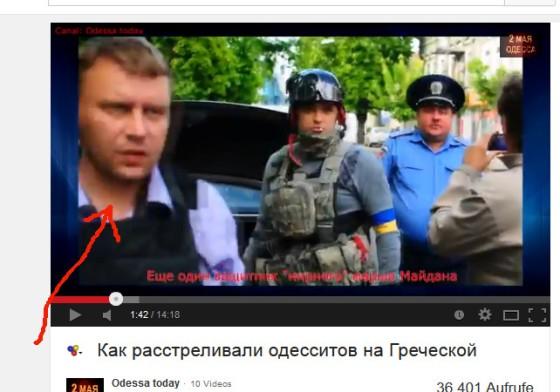 Faschistenführer Odessa