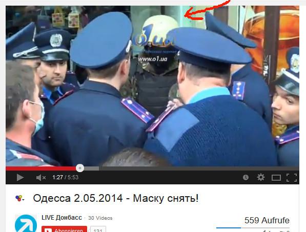 Polizeischutz für Agent-Provokateur