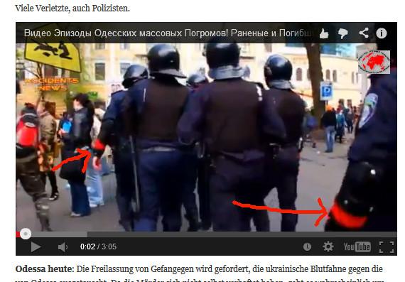 Rotband-Polizei