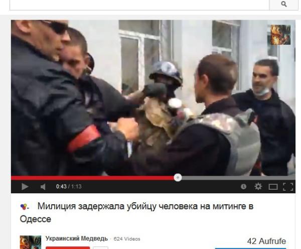 Polizei und Faschisten gemeinsam gegen Antifaschisten