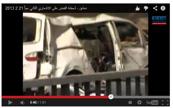 Auto mit Bomben