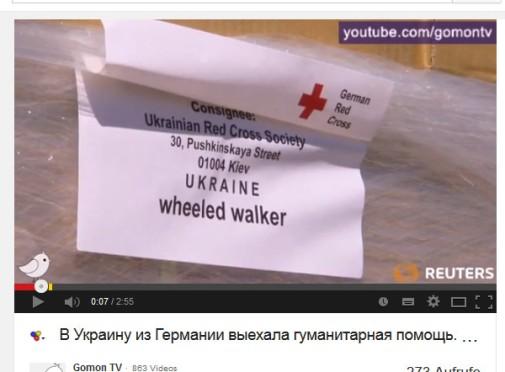 Dokumentation Rotes Kreuz