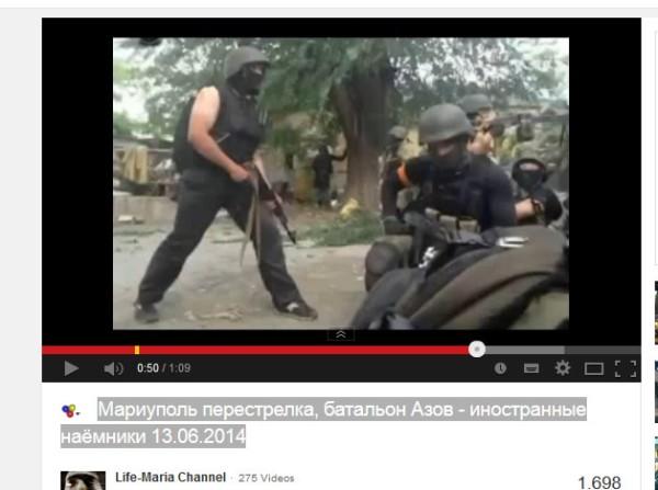"""Nazi-Battalione Asow """"Schwarze Männer"""" von Oleg Liashko geführt"""