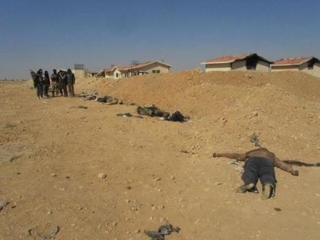 Daraa Morde Soldaten