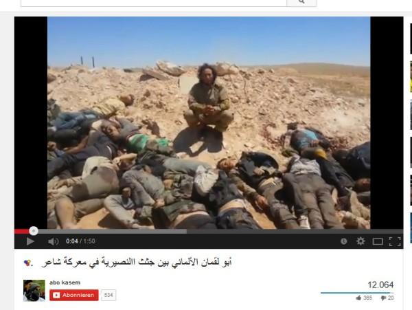 Deutsche Massenmörder in Syrien