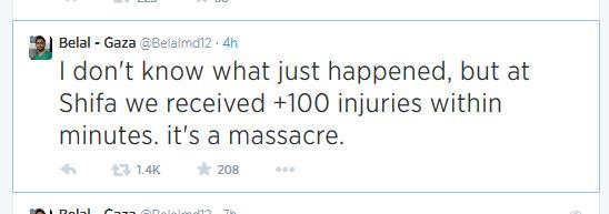 In Gaza massaker