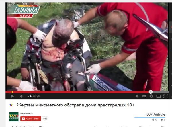 Rollstuhl Kriegsverbrechen