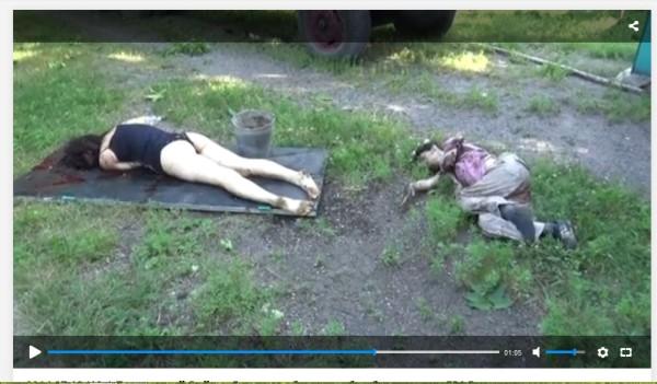 Ukraine ermordet
