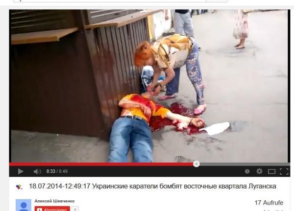Ukraine mordetin Lugansk