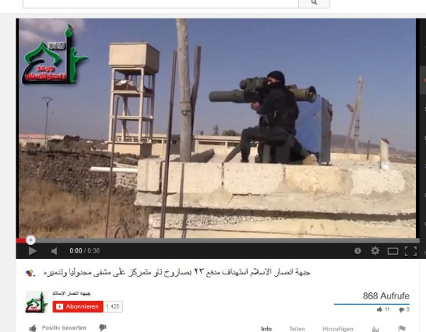 Ansar al Islam CIAidas Daraa