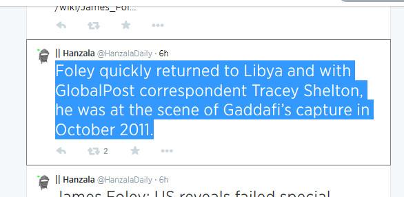 Gaddafi Mord