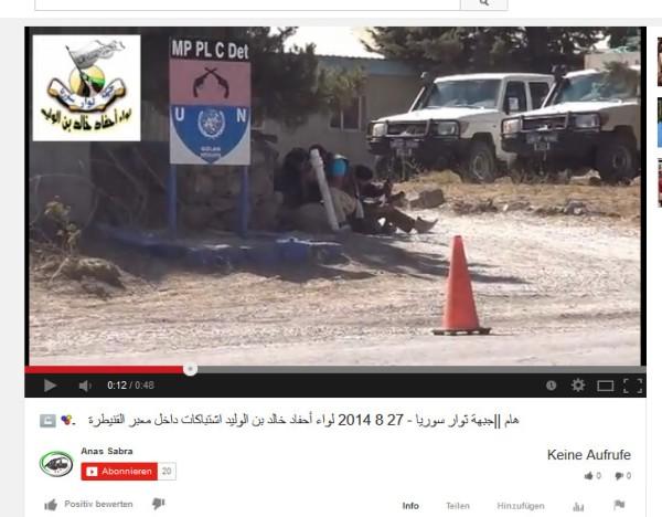 UN-Gelände mit Terroristen
