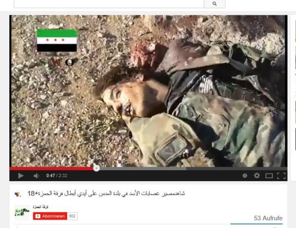 Ermordet von FSA 61 golan