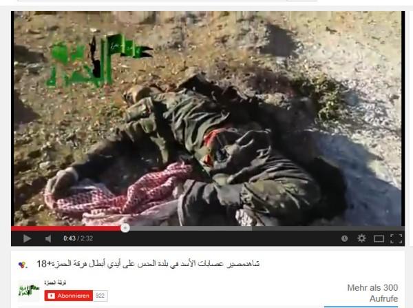 ermordet von FSA Golan