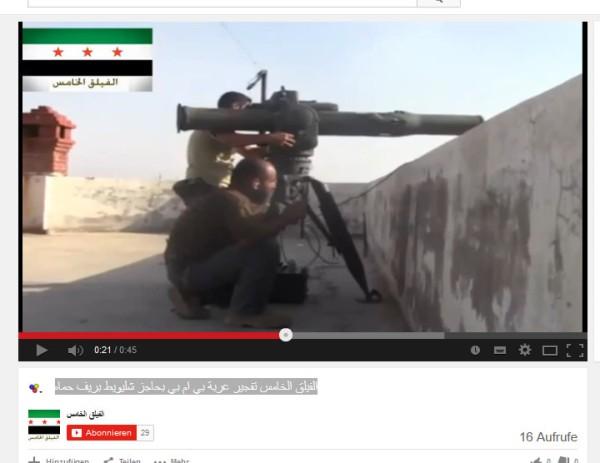 Noch eine TOW bei Hama