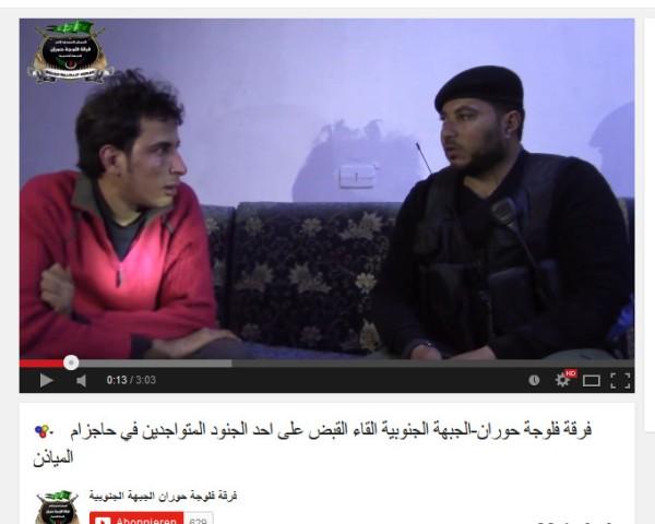 Abu Hadi mit Monolog