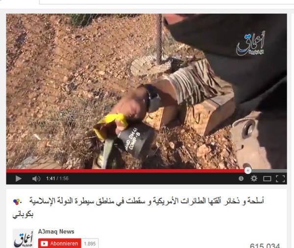 DWaffen an IS Kobane