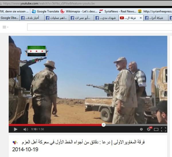 Frontbegehung durch FSA-Kommandeure Nasseb