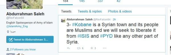 islam Armee zahran Allousch-Sprecher