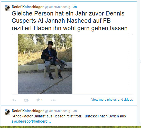 Knieschläger Salafist