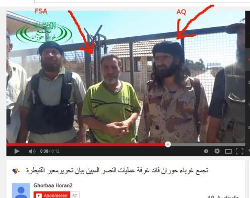 Kommandeure FSA und Al-Kaida
