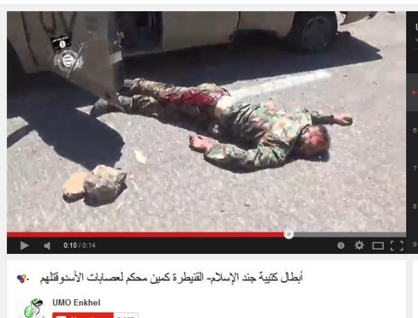 Leiche Fahrzeug terroristen