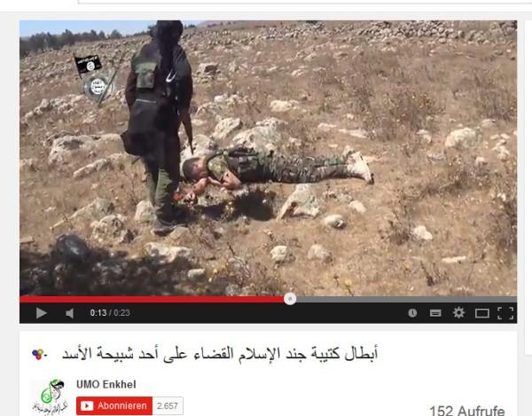 Soldat Al-kaida Kopf