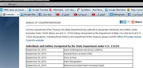 US Terrorliste