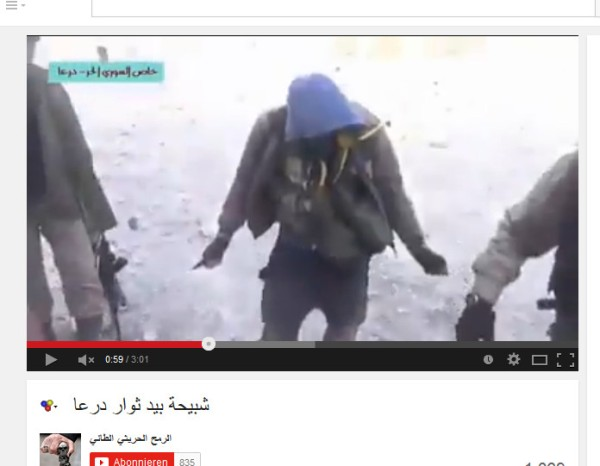 Usraels daraa Südarmee-Zombies