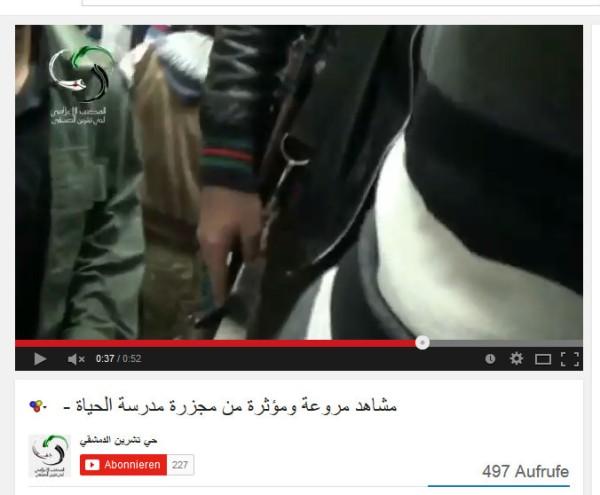 Bewaffnet Qaboun