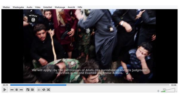 Gegen diese Alawiten