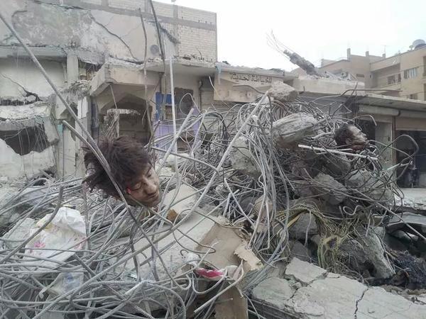 geköpft airstrike