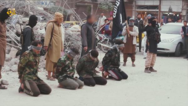 Raqqa ermordete Soldaten