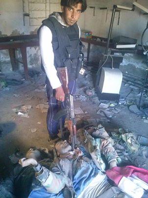 Sheik Miskin Leichen Gefangene ermordet